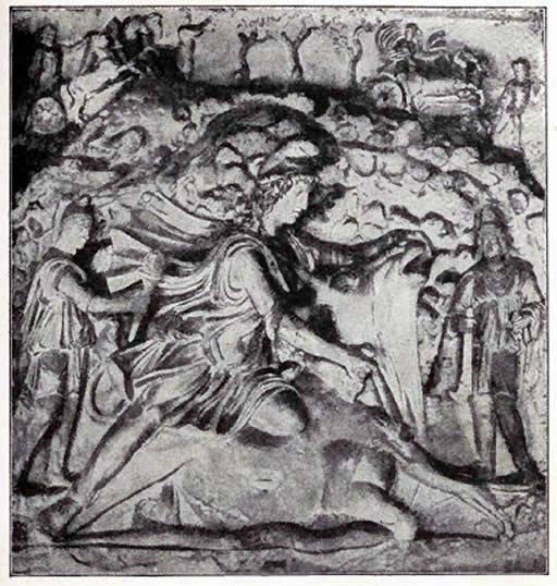 Borghesi Bas Relief Of Mithra
