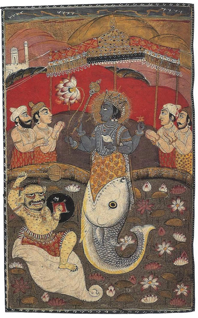 The Avatars Of Vishnu