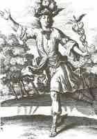 mercury with his caduceus