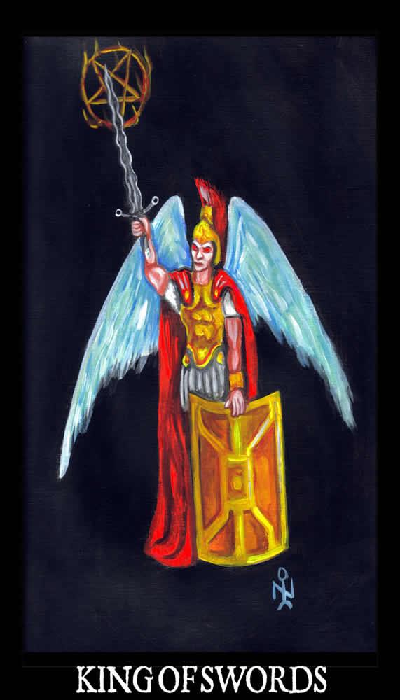 Luciferian Tarot Cards Wallpaper
