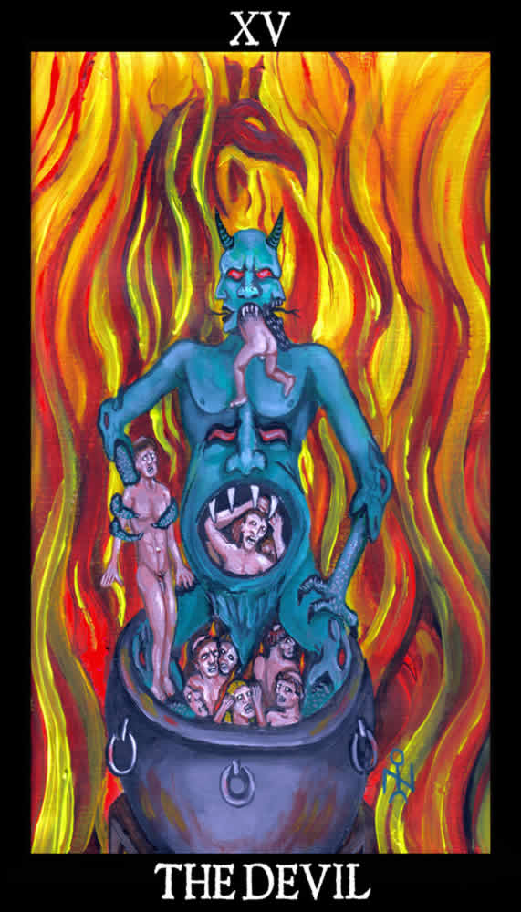 Tarot cards the devil quotes