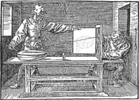 durer perspective machine