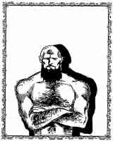 foras the strong bearded man