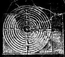 medieval labyrinth decoration