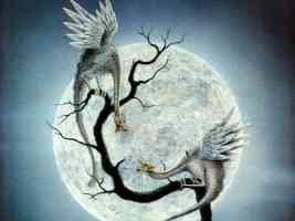 dragons at full moon