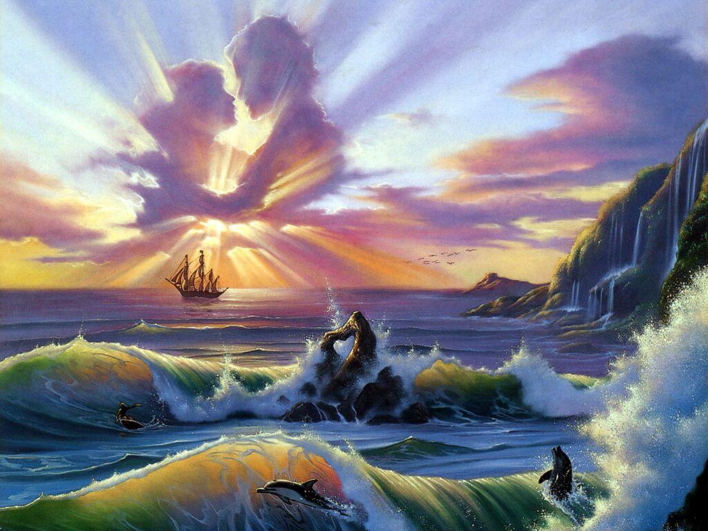 Jim Warren Oceanic Lovers