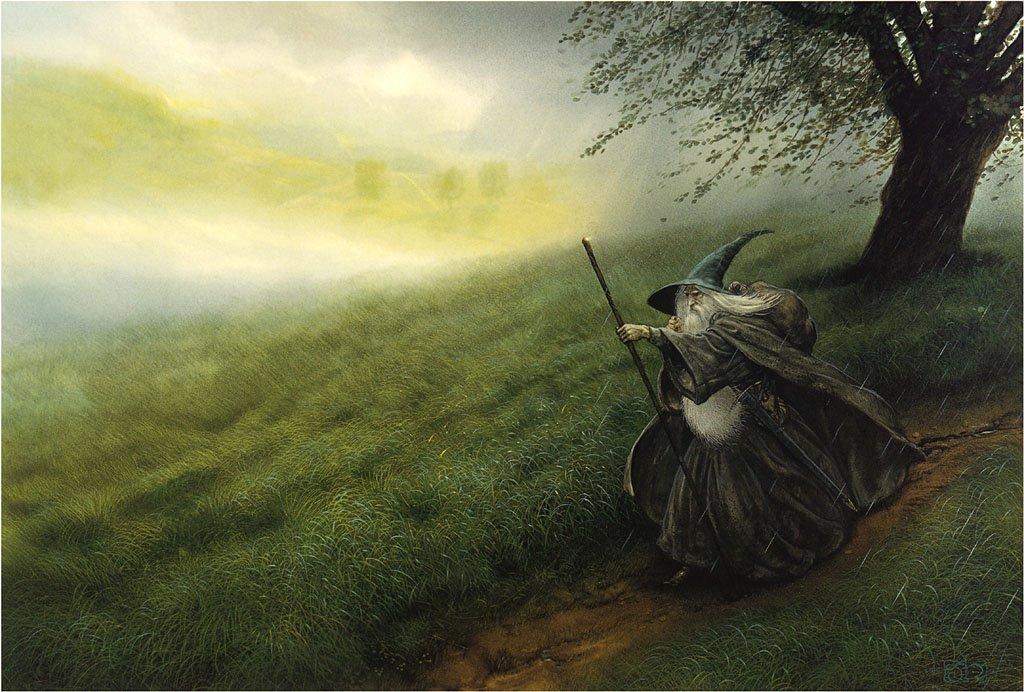 Daruma John Howe Gandalf