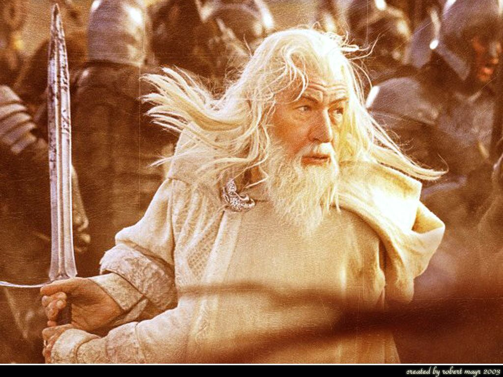 Lord Of The Rings Gandalf In Battle