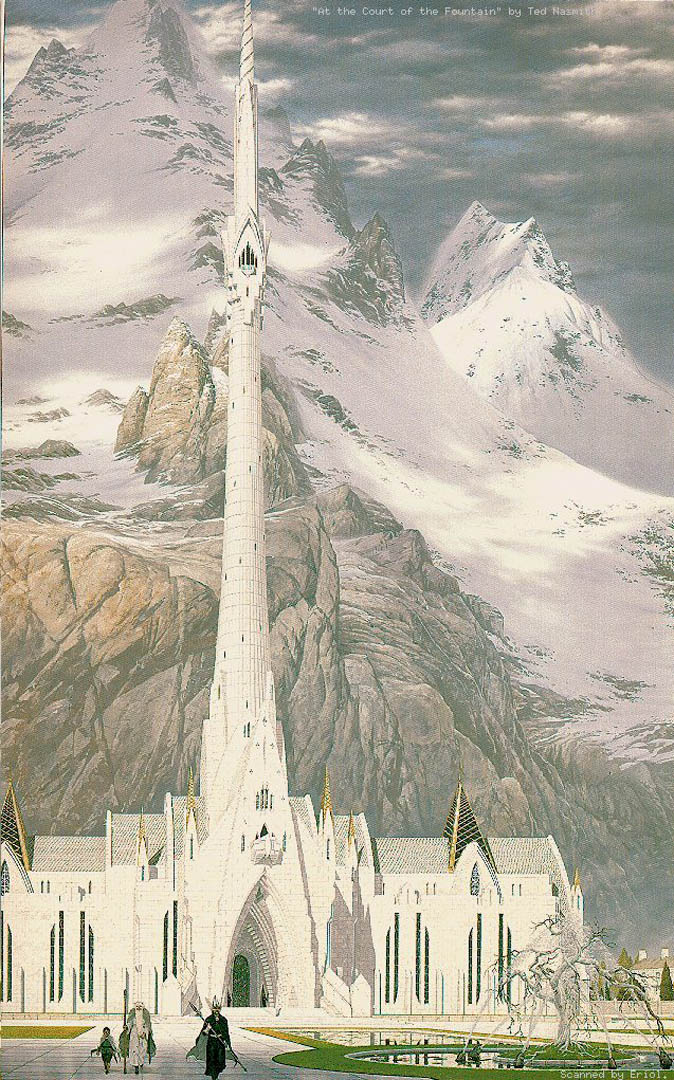 the court of the in gondor lord of the