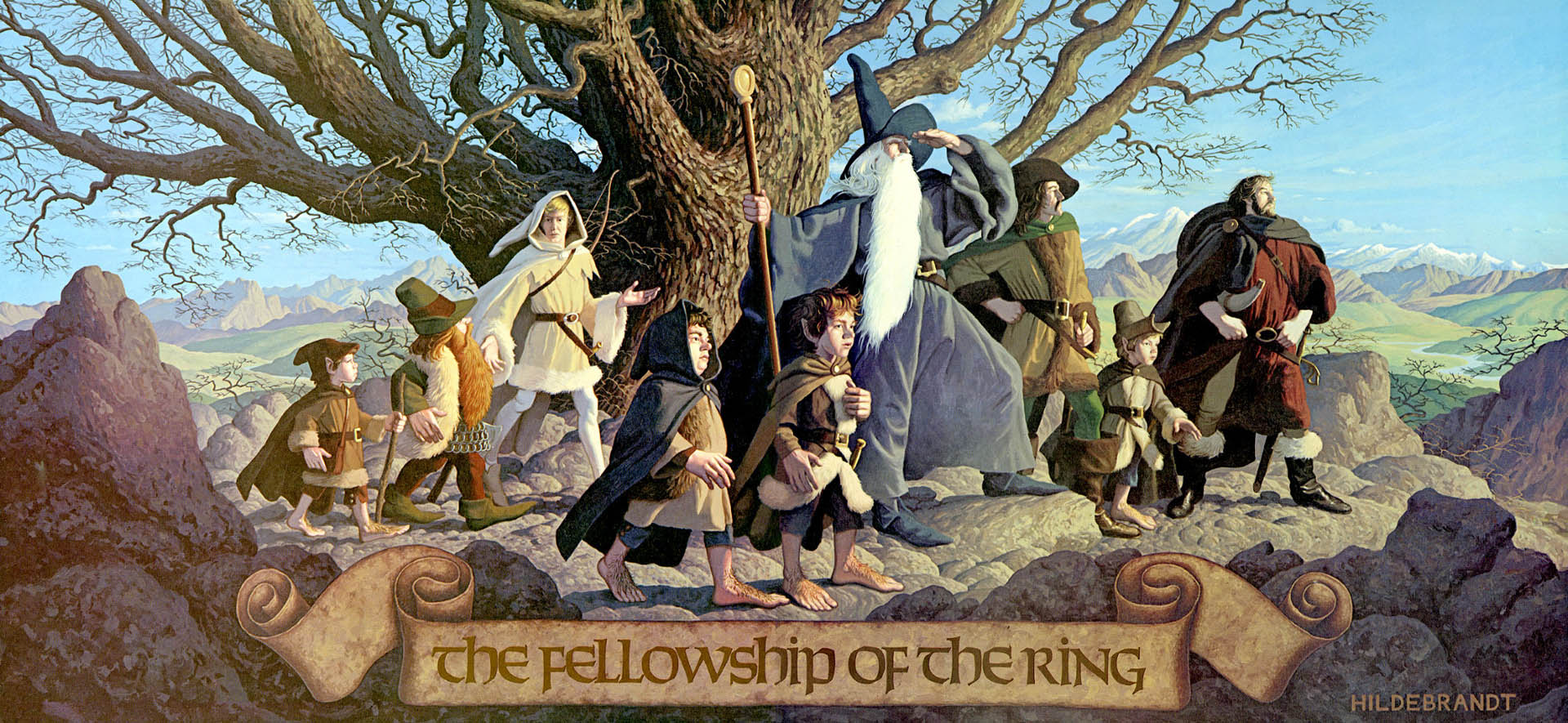 "the fantasy trilogy of the lord of the rings in tolkiens the fellowship of the ring The trilogy that changed the face of fantasy films tackled a number of  was a  lord of the rings superfan who actually met jrr tolkien (""i was very much in  awe  of the fellowship of the ring's mountain filming locations, instead  climbing to."