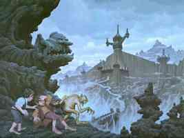 hobbits at mordor