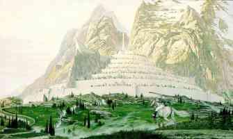 Minas Tirith At Dawn Fantasy Lord Of The Rings