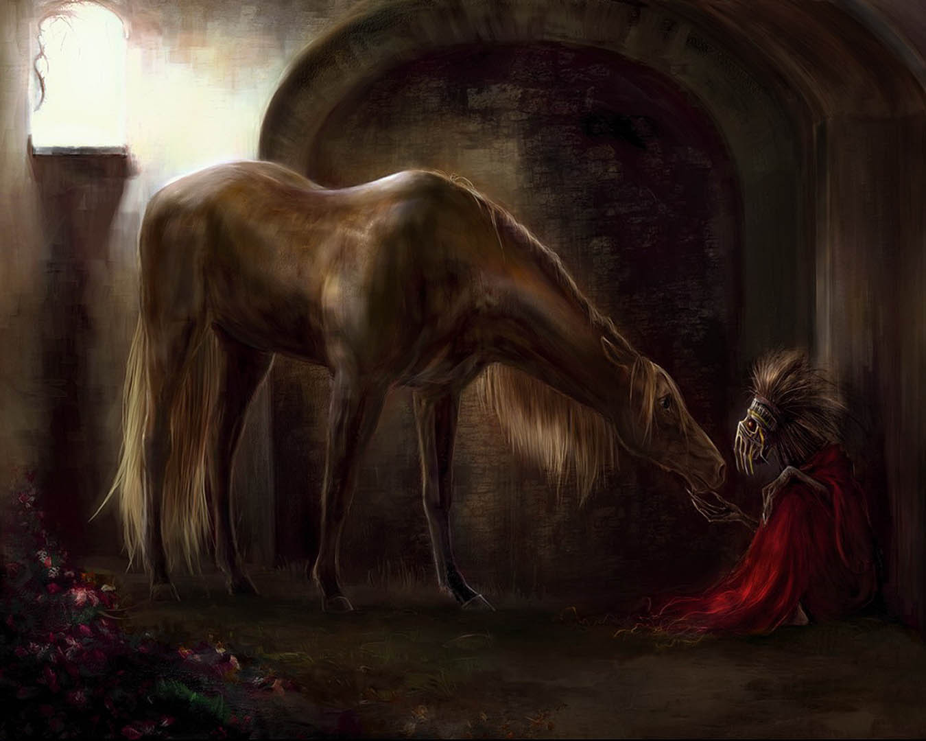 Horse And Demon