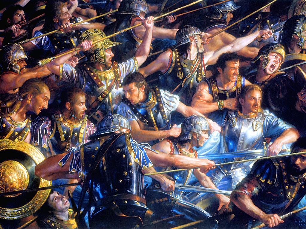 Roman Warriors Donata Giancola