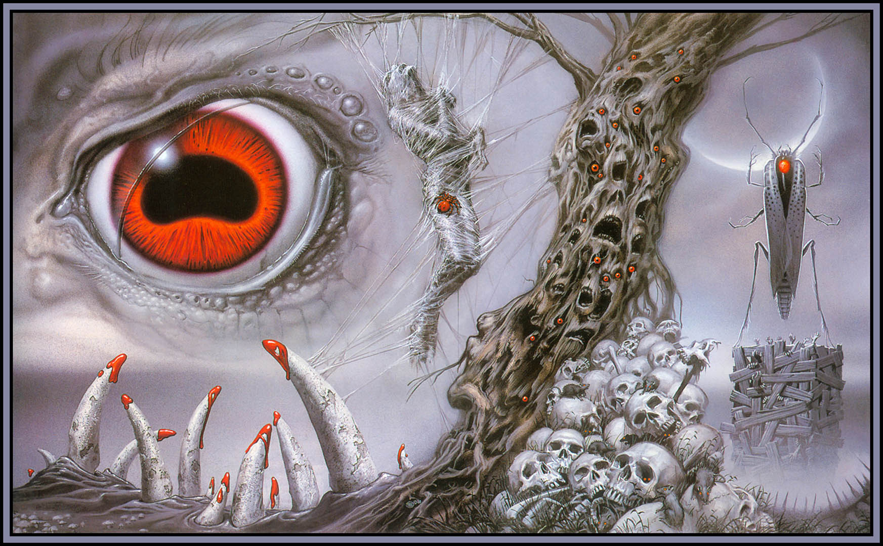 Hp Lovecraft Art Wallpapers: Michael Whelan Wallpaper Image