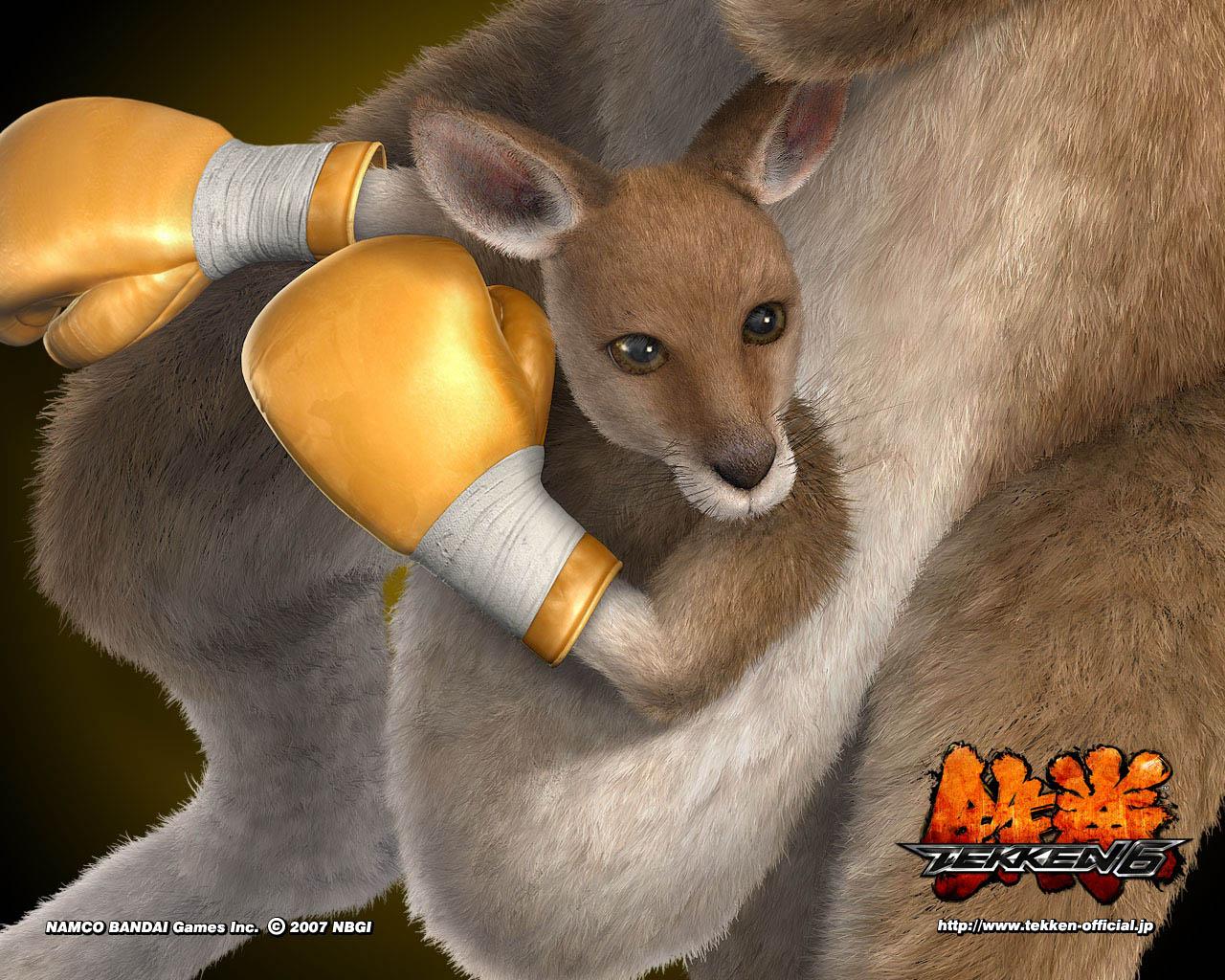 Tekken 6 Roger Kangaro...