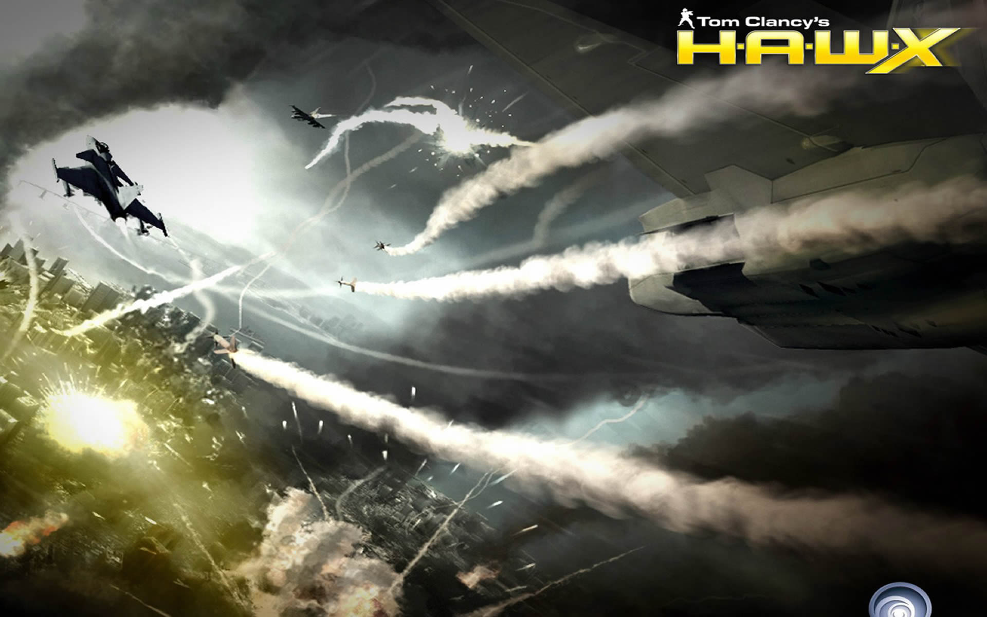 Новые скриншоты HAWX. новости игр. Luffy.