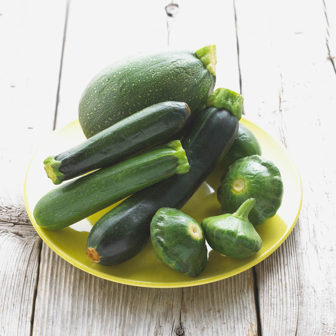 Vegetables Green Summer Squash Assortment