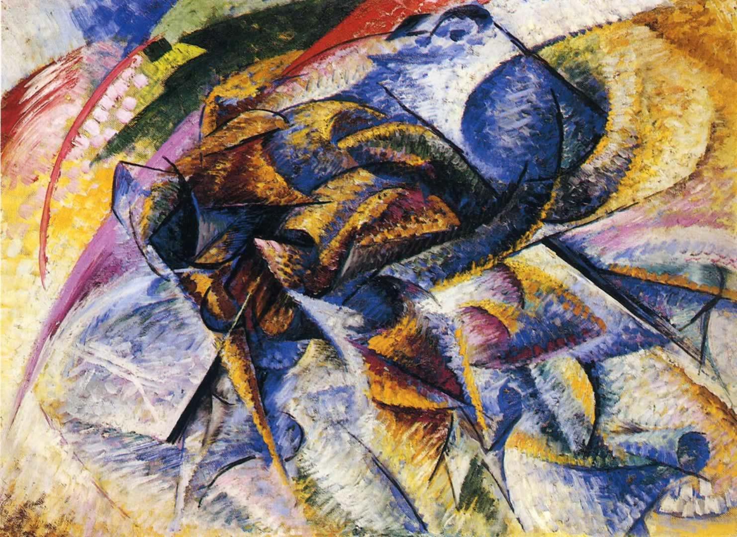 Boccioni Futurism Umberto Boccioni Dynamism Of
