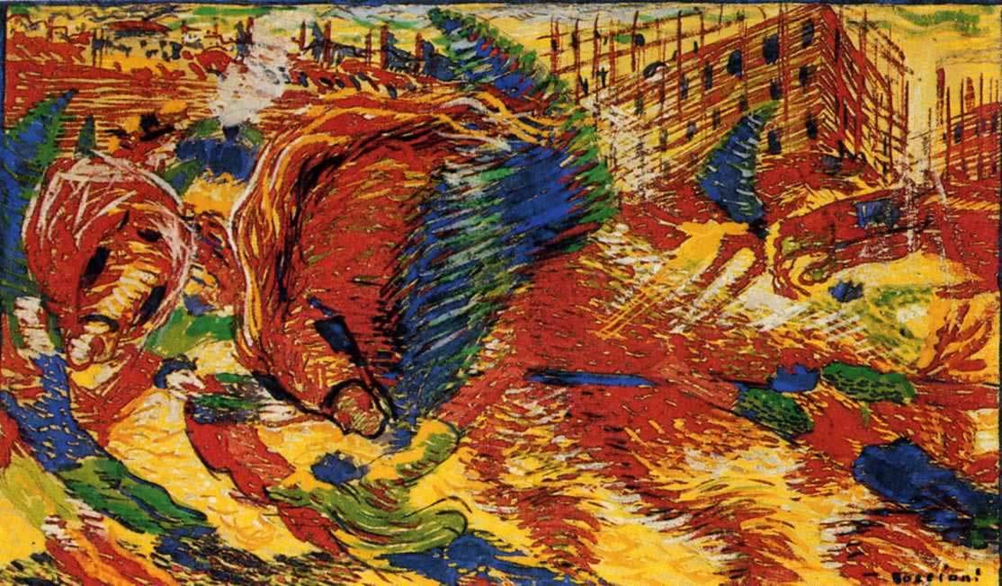 Boccioni Futurism Umberto Boccioni The City
