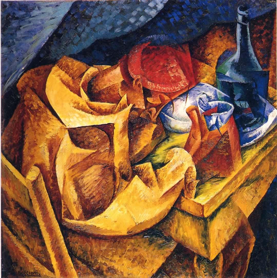 Boccioni Futurism Umberto Boccioni The Drinker