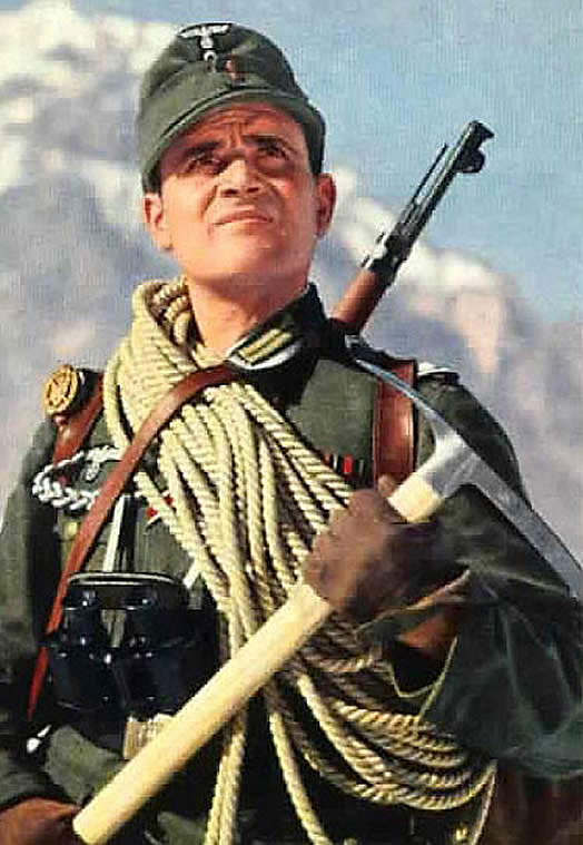 A Member Of The German Mountain Troops