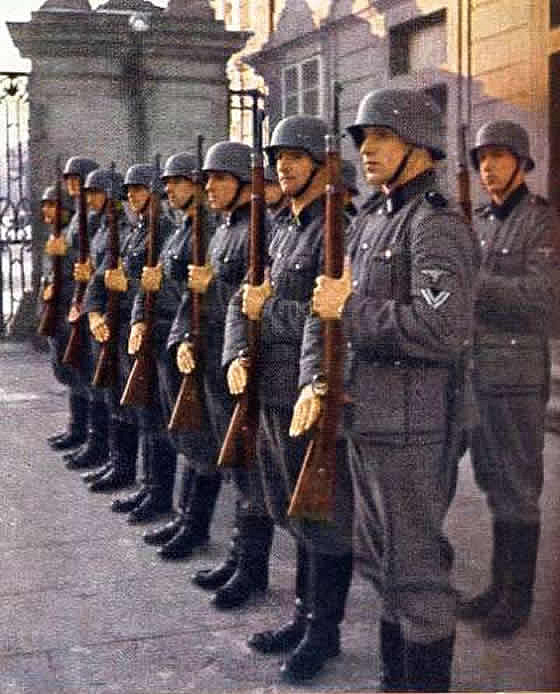 Honor Guard Of The Waffen SS