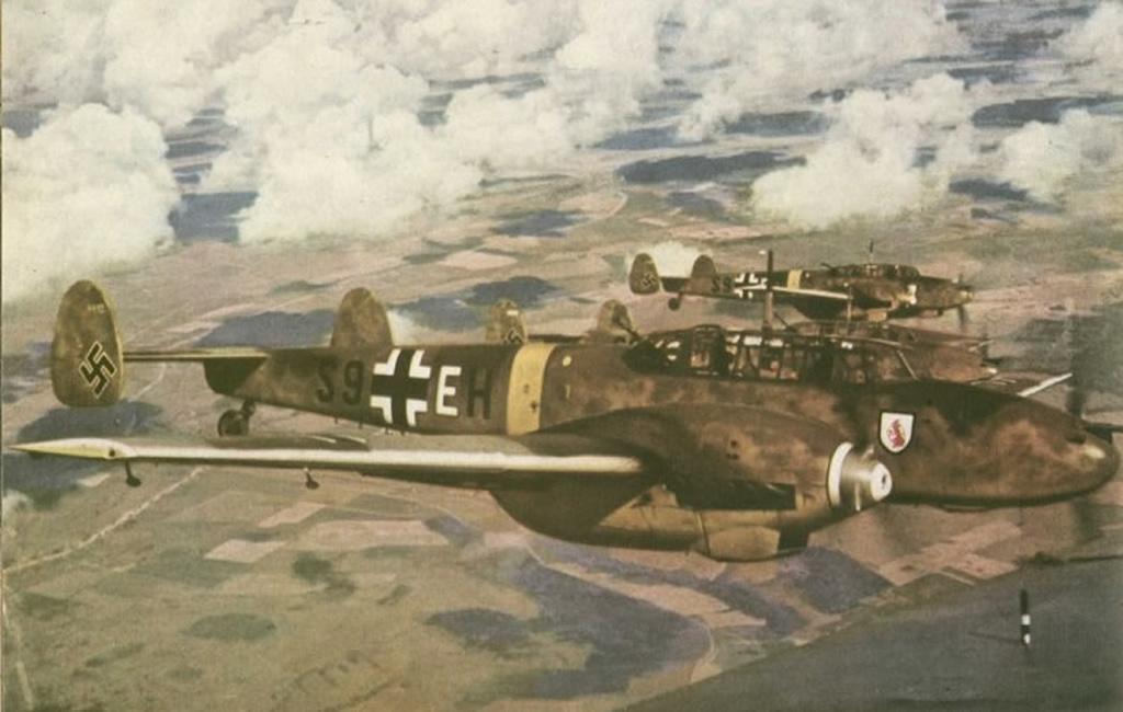 110 Wallpapers 2: Messerschmitt Bf 110 Destroyer