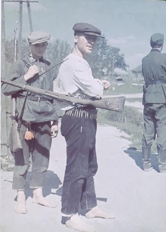 russian volunteers