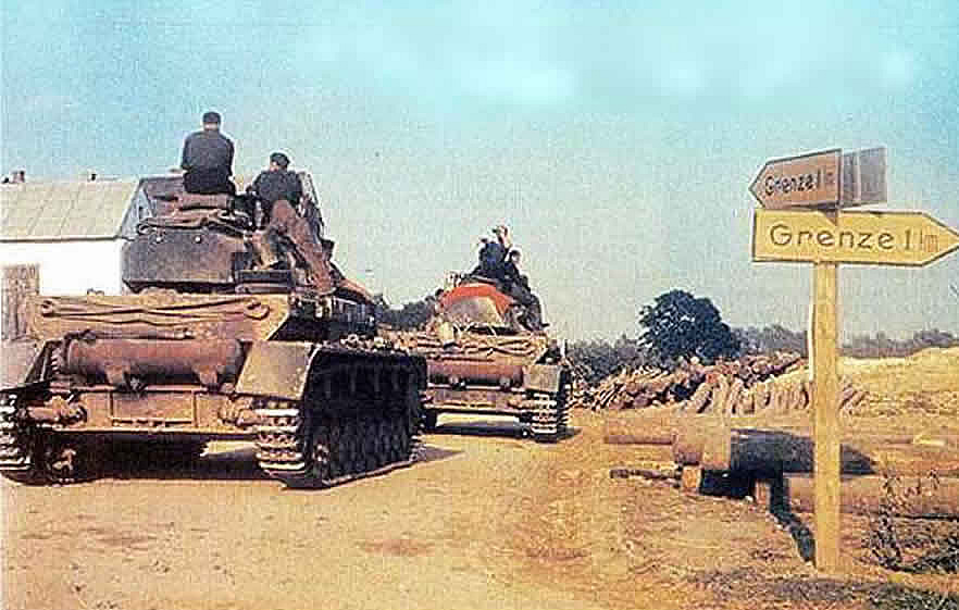Army Reinforcements On The Polish Border