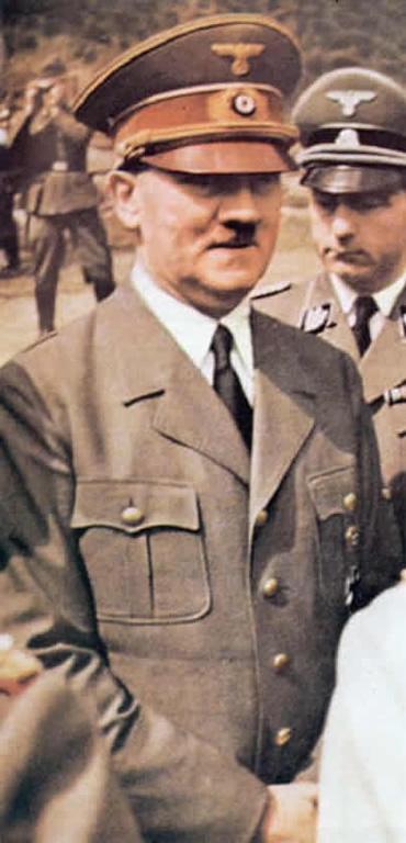 Hitler Close Up
