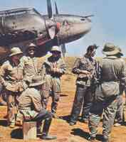 Afrika Korps and Messerschmidt Bf110