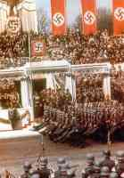 Birthday Parade in honor of Adolf Hitler in Berlin