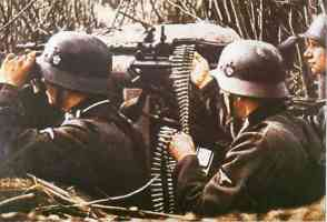 MG 34 of the SS Police Division