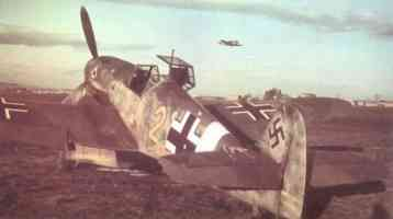 Me109 F4 airfield