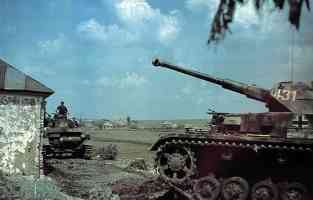 Panzer IV tank in Russia 1943