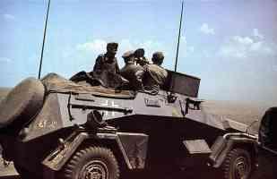 Sdkfz222 Reconnaissance Vehicle