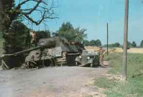 Shot hunting tiger tanks