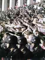 The crowd at Nuremberg Nazi Rally