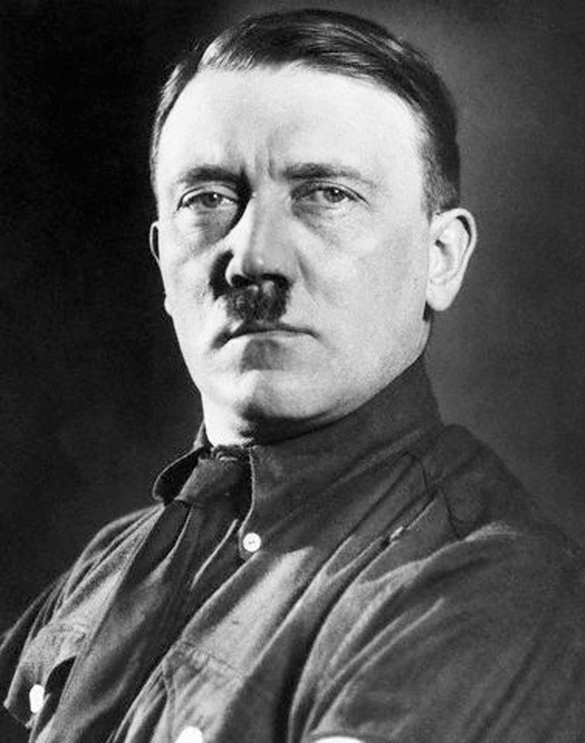 Early 1930s Portrait Of Hitler