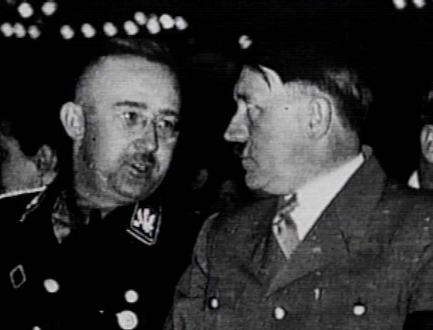 Hitler And Himmler Sharing A Joke