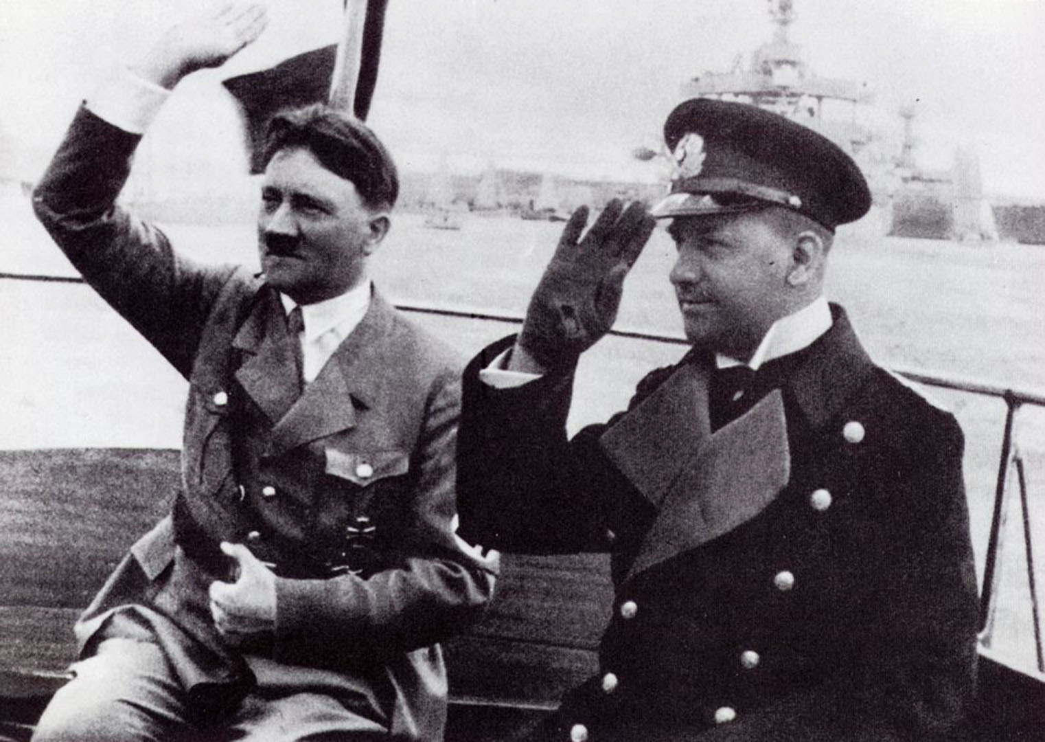 Hitler At Sea With Commander