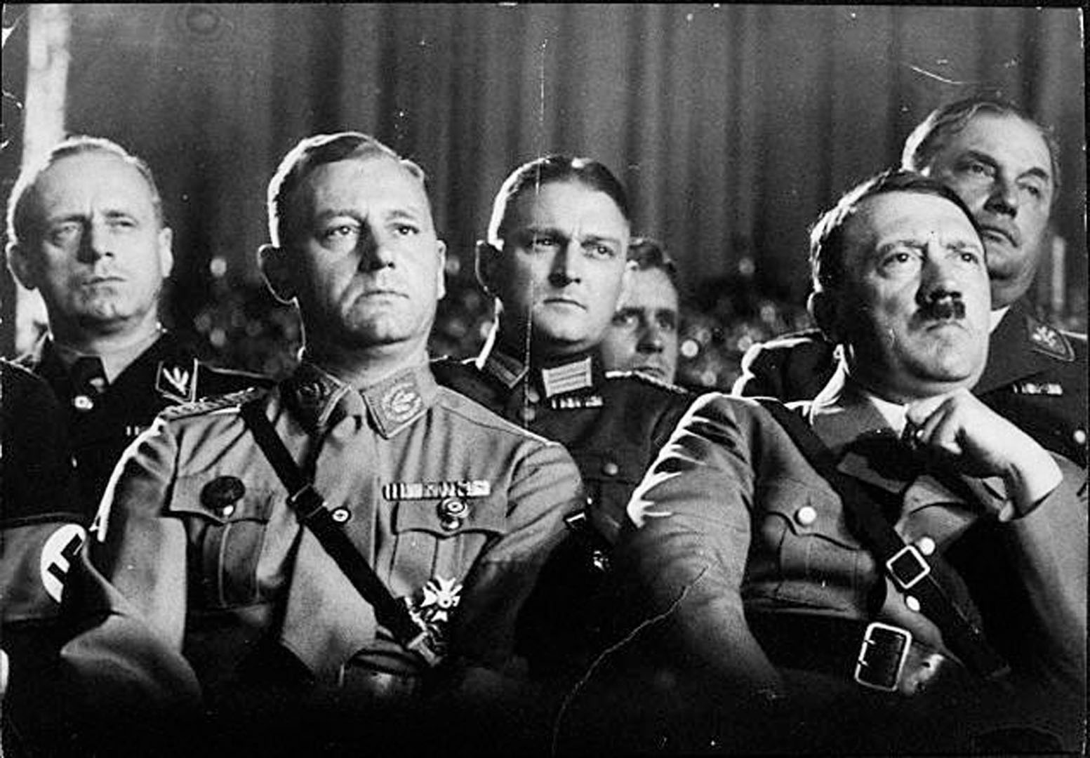 the leadership of hitler and the nazi regime