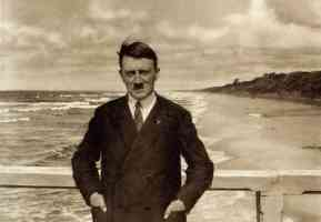 hitler by the beach