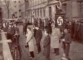 hitler heydrick goebbels goring in civilian clothes