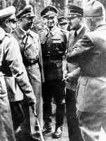 hitler in the forest with himmler