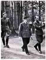 hitler walking