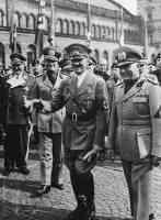 mussolini and hilter in munich 1938