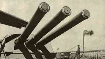 us navy big guns