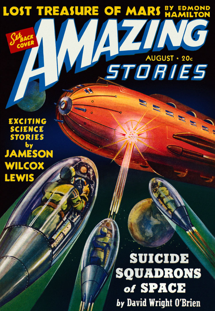Amazing Stories Volume 21 Number 06: Amazing Stories Featuring The Suicide Squadrons From Space